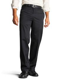 Dockers Men's Straight Fit Signature Khaki Pant D2,Black,