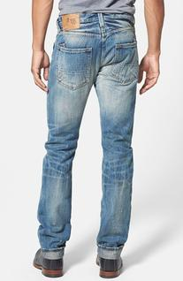 Men's PRPS 'Demon' Straight Leg Selvedge Jeans  5 Year Wash