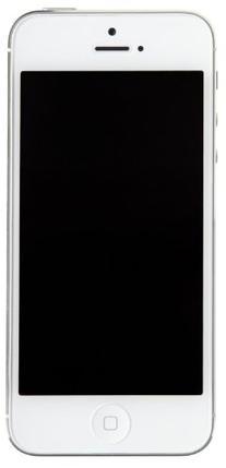 Straight Talk iPhone 5 Prepaid Cell Phone, 16 GB, White