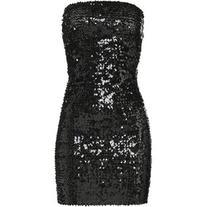 Faith Connexion Strapless Sequin Dress