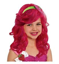 Girls Strawberry Shortcake Costume Wig