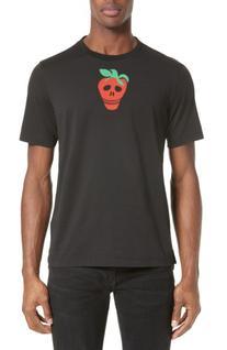 Men's Paul Smith Strawberry Skull T-Shirt, Size X-Large -