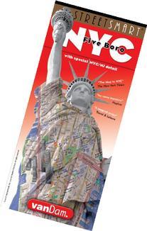NYC Five Boro Map by VanDam -- Laminated pocket sized city