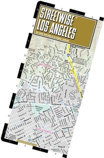 Streetwise Los Angeles Map - Laminated City Center Street