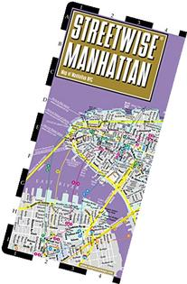 Streetwise Manhattan Map - Laminated City Street Map of
