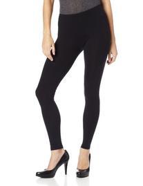 Women's Splendid Stretch Cotton Leggings Black Size Large