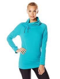 White Sierra Women's Stretch II Pullover, Large, Jewel Green