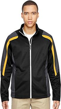 North End Men's Strike Colorblock Fleece Jacket XX-Large