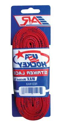 A&R Sports USA Waxed Hockey Laces, 96-Inch, Royal