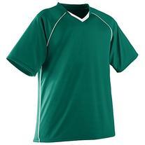 Augusta Sportswear BOYS' STRIKER JERSEY M Dark Green/White