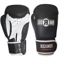 Ringside Striker Training Gloves, Black/White, Large/X-Large