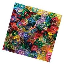 STRINGING RING BEADS 220PC ASSORTED SHAPES & COLORS