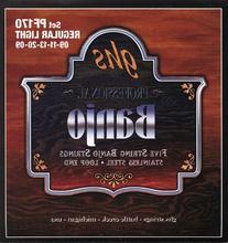 GHS Strings PF170 5-String Banjo Strings, Stainless Steel,