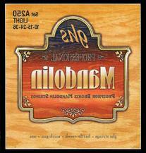GHS Strings A250 Phosphor Bronze Mandolin Strings, Loop End