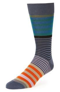 Men's Paul Smith 'New Woven' Stripe Socks, Size One Size -