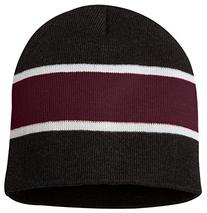 bc17204ca79 Sportsman Striped Knit Beanie