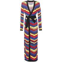 Balmain Striped Robe
