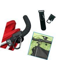 Qianle 2 Count Baby Stroller Hook Stroller Stroage Accessory