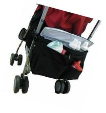 Better Space Stroller Organizer w/Cooler, Black