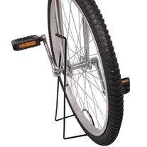 Strong Heavy Duty Black Anodized Iron Unicycle Display Stand