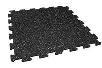 IncStores 8mm Strong Rubber Tiles  Interlocking Rubber Gym