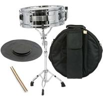 Student Snare Drum Set with Practice Pad Sticks Stand and