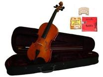 GRACE 14 inch Natural Student Viola with Case, Bow+2 Sets
