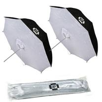 PBL Photo Studio 40in Reflective Umbrella Softboxes Set of