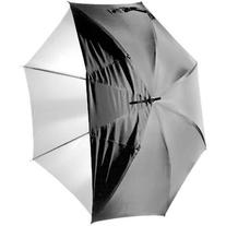 "Polaroid Pro Studio 43"" White Satin Interior Umbrella with"