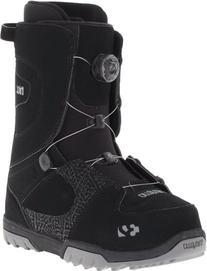 thirtytwo Men's STW Boa 12 Snowboard Boot,Black,6 C US