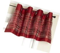 Stylemaster Fiesta Faux Silk Grommet Valance with Sequin