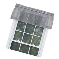 Stylemaster Home Products Sheer Voile Valance, 60 by 14-Inch