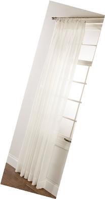 Stylemaster Splendor Pinch Pleated Patio Window Panel, 96 by