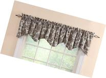 Stylemaster Twill and Birch Cassidy Lined Scalloped Valance
