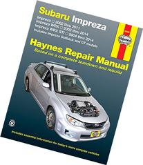Subaru Impreza 2002 thru 2011, Impreza WRX 2002 thru 2014,