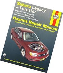 Subaru Legacy & Forester: Legacy 2000 thru 2009 - Forester