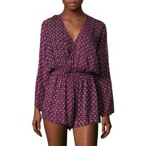 FAITHFULL Women's Sublime Printed Playsuit - Size L