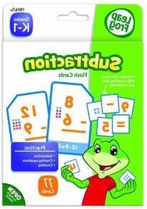 LeapFrog Subtraction Flash Cards for Grades K-1 Pack of 77
