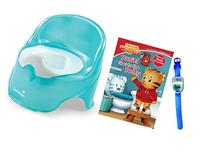 Summer Infant Lil' Loo Toddler Potty with Daniel Goes to the