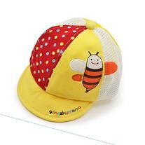 Kangkang@ Summer Fashion Wave Bee Children Mesh Hat Outdoor