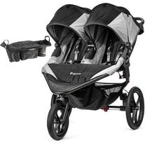 Baby Jogger Summit X3 Double Jogging Stroller with Parent