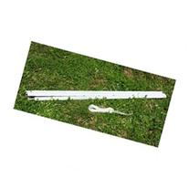 Outsunny Sun Sail Shade Canopy Installation Pole / Pipe Kit
