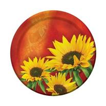Sunflower Style 9-inch Plates