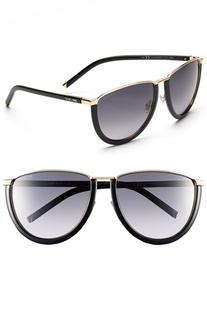 Women's Jimmy Choo 60mm Sunglasses Rose Gold/ Brown One Size