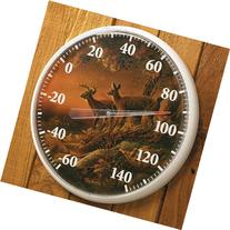 Wild Wings Sunset Harvest Outdoor Thermometer by Terry
