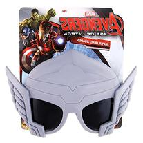 Sunstaches Officially Licensed Avengers Thor Sunglasses