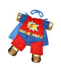 "Super Bear Outfit Fits Most 8""-10"" Webkinz, Shining Star and"