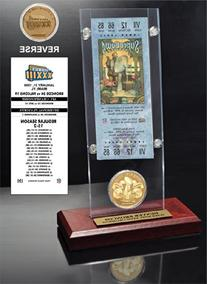 NFL Super Bowl 33 Ticket & Game Coin Collection