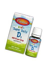 Super Daily D3 for Kids 400IU Carlson Laboratories 0.37 fl