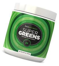 SUPER GREENS | #1 Green Veggie Superfood Powder | 30